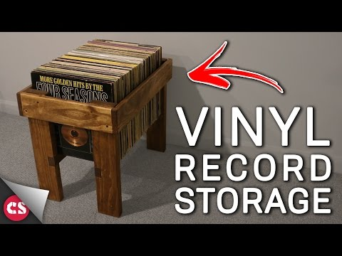 Vinyl Record Storage DIY