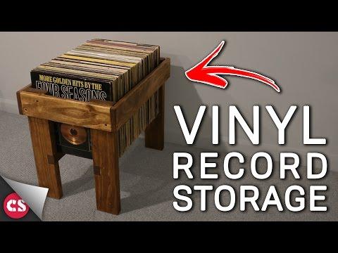 Vinyl Record Storage DIY