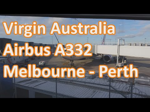 Virgin Australia - Melbourne to Perth - A332