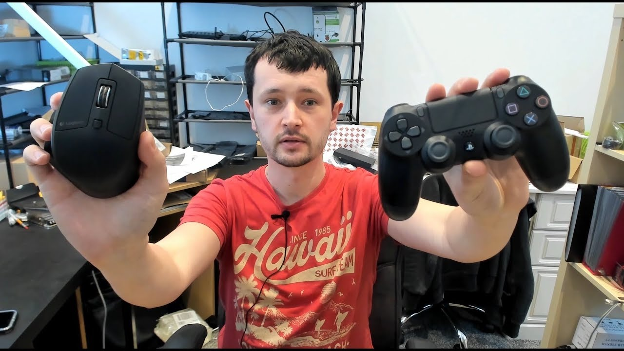 How to play with keyboard and mouse on PS4
