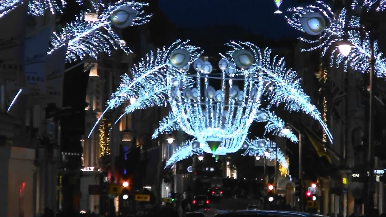 christmas abc london tour guides oxford street selfridges christmas lights west end youtube