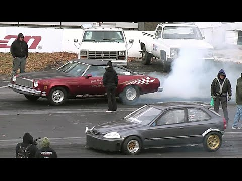 Street Wars American Muscle Vs Import Tuner Cars Youtube