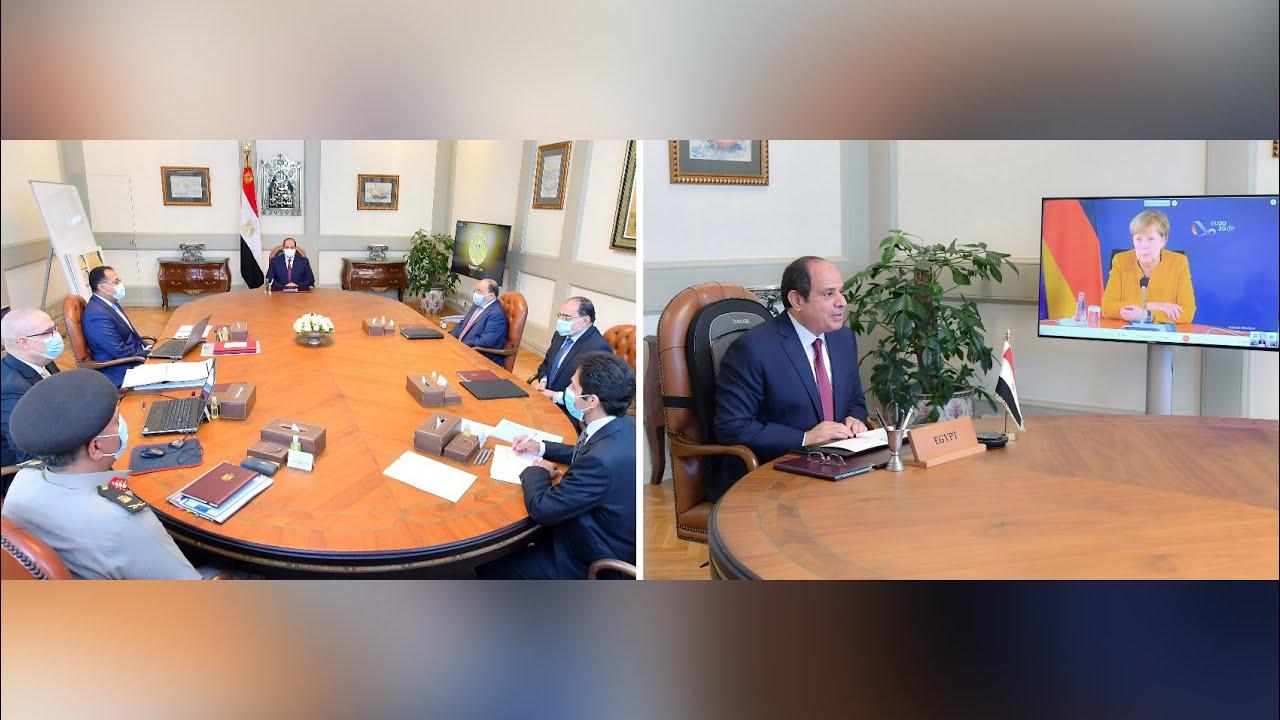 تقرير كامل عن نشاط السيد الرئيس عبد الفتاح السيسي خلال اليوم ٢٠٢٠/١١/٢
