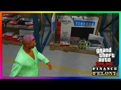 "GTA 5 Online - WAREHOUSES EXPLAINED! - How To Buy/Use A Warehouse - ""FINANCE AND FELONY DLC"""