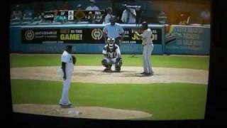 Santiago Casilla Funniest at Bat ever