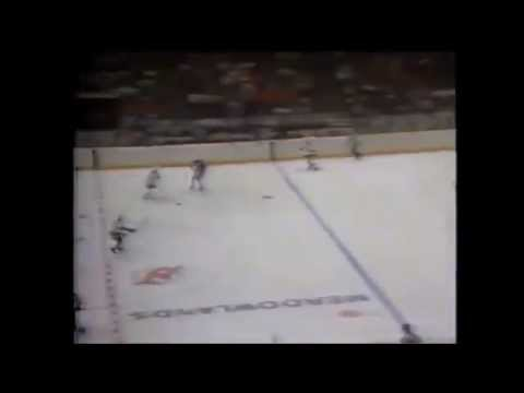 Some highlights of  4 NJ Devils games from the 1983-4 season