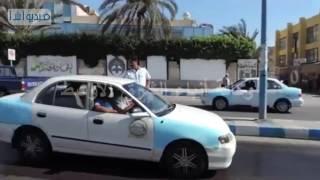 مدير أمن مطروح يشرف على حملة مرورية تضبط 581 مخالفة و4 سائقين تحت تأثير المخدر