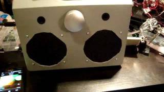 Diy Portable Stereo Amp With Speakers