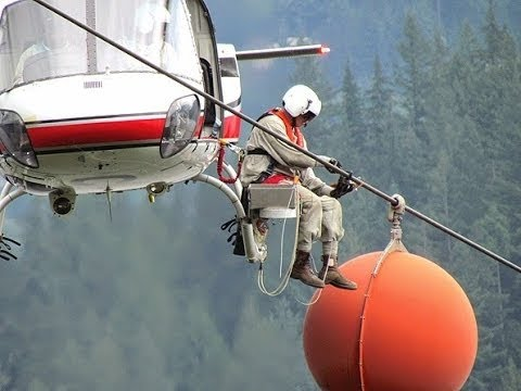 Extreme Jobs - High Voltage Power Line Inspection