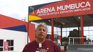 Secretário de Tecnologia e Ciências de Maricá, Sérgio Mesquita, falando do Ti-Games!