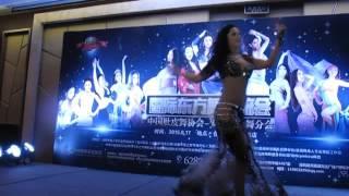 "Dovile (Lithuania) dance song ""Ma Waadtik Bi Njoum El Leil"" in Hefei (China) 2015"