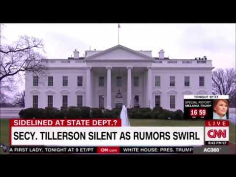 U.S. Secretary of State Rex Tillerson sidelined for Jared Kushner as Rumors Swirl  #trump