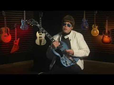 """Elliot Easton """"Inspired By"""" Gibson SG Guitar"""