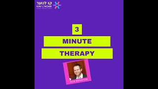 Ellie Rothstein  3 minute therapy