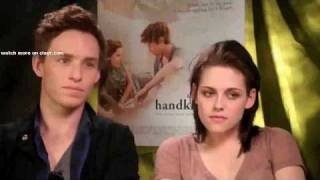 Kristen Stewart on kissing and Breaking Dawn buzz cam