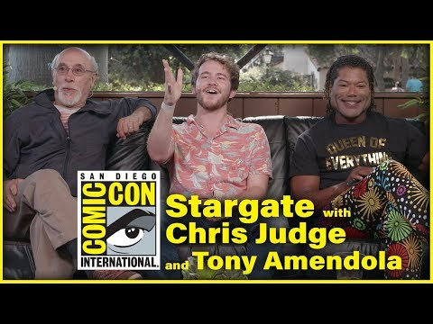 Stargate Panel W Tony Amendola & Chris Judge