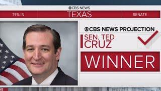 Ted Cruz wins tough election against Beto O\'Rourke for Texas Senate seat