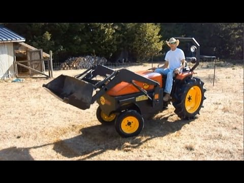 Solar Electric Tractor Model 12 - Steve Heckeroth