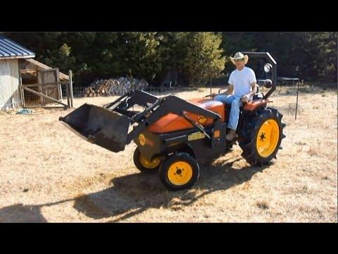 Solar Electric Tractor Model 12 - Steve Heckeroth