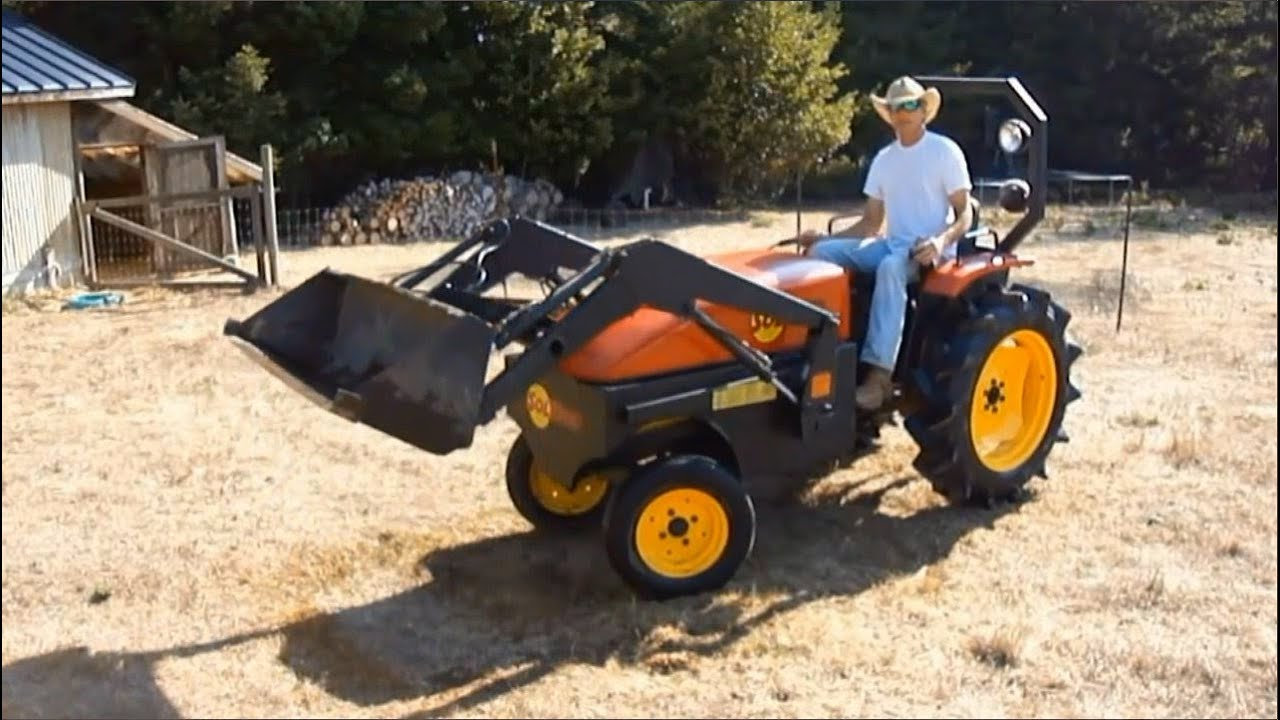 Show home build gas powered mini tractors - Show Home Build Gas Powered Mini Tractors 31