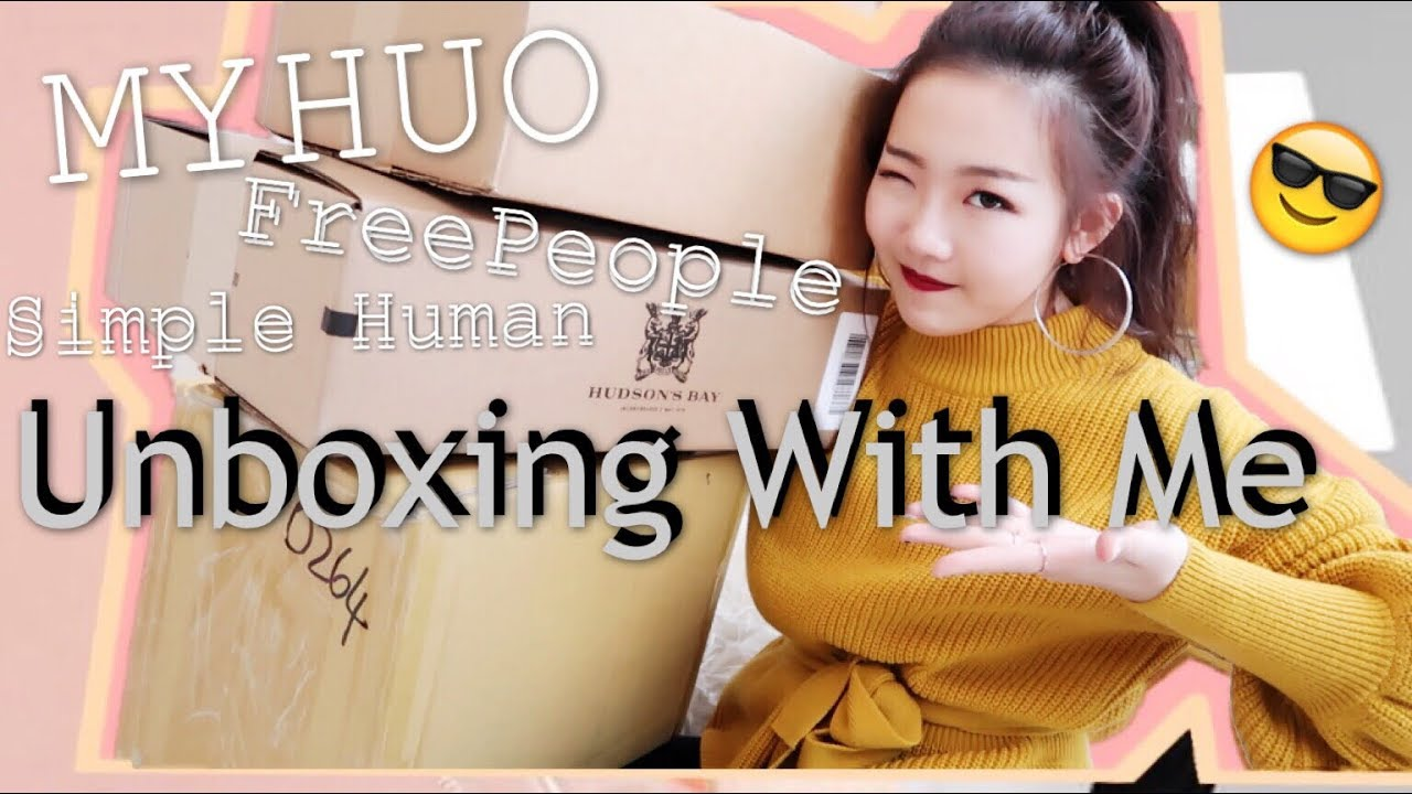 UNBOX WITH ME| 十月購物分享| 三個包裹開箱| Myhuo八五折| 冬天配飾| 高級的鏡子| OCTOBER COLLECTIVE HAUL - YouTube