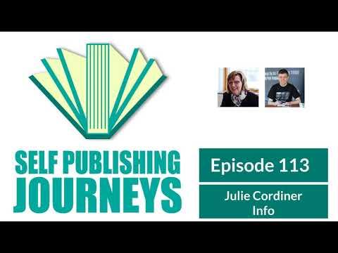 SPJ013 Julie Cordiner, Self-Published Non-Fiction Author