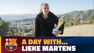 A day in the life of Lieke Martens