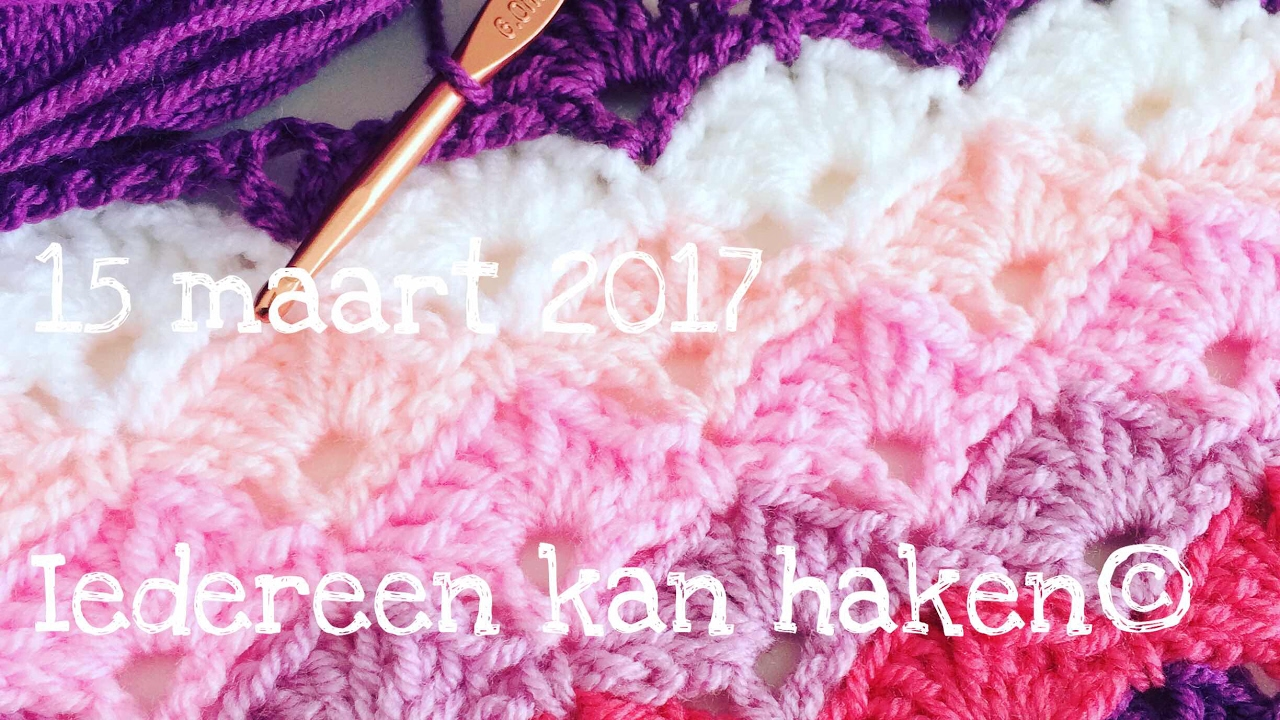 Iedereen Kan Haken Waaier In Waaier Crochet Different Languages