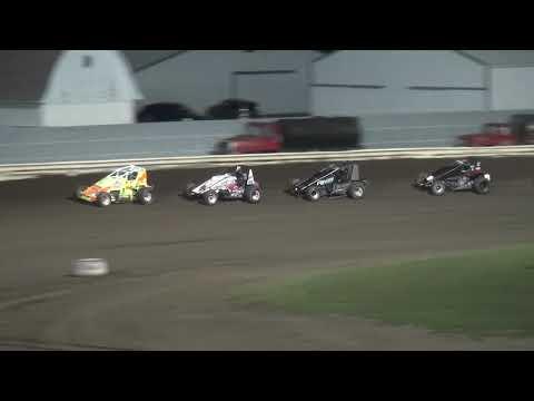 Iowa Sprint Car League Heat 3 Pepsi Lee County Speedway 9/14/19