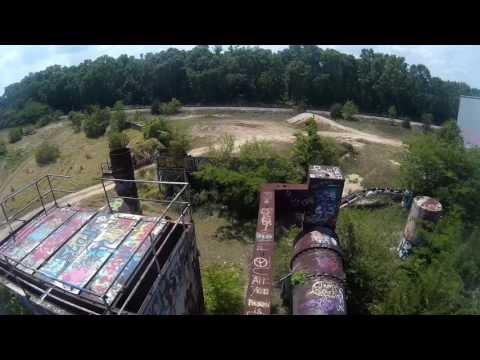 Tallahasse abandoned cement factory
