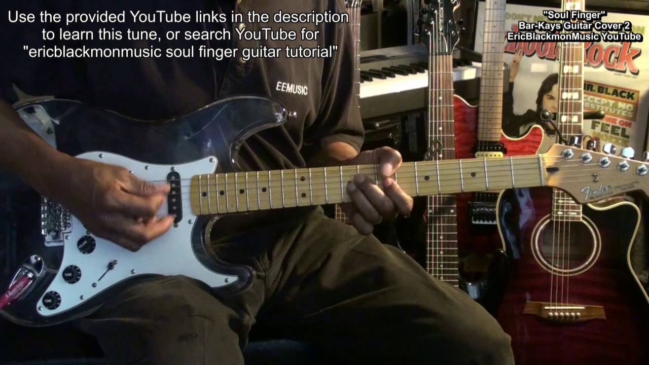 Soul Finger The Bar Kays Electric Funk Guitar Lesson Link Cover 2