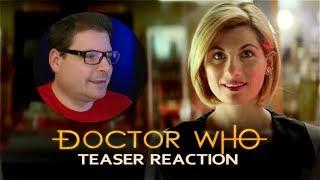DOCTOR WHO Reaction - Series 11 - Teaser Trailer #1