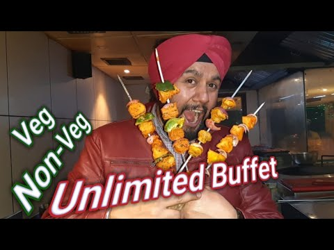 Unlimited Dinner At BarbeQue Nation | Veg Non-Veg Unlimited Food Unlimited Fun |