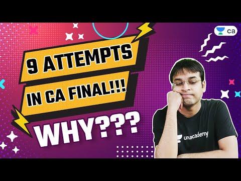 9 Attempts in CA Final!   WHY???   Nishant Kumar
