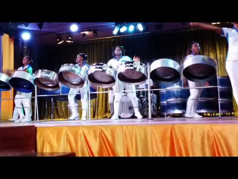 Jamaica Steel Drum show 4  Montego Bay Riu 2015