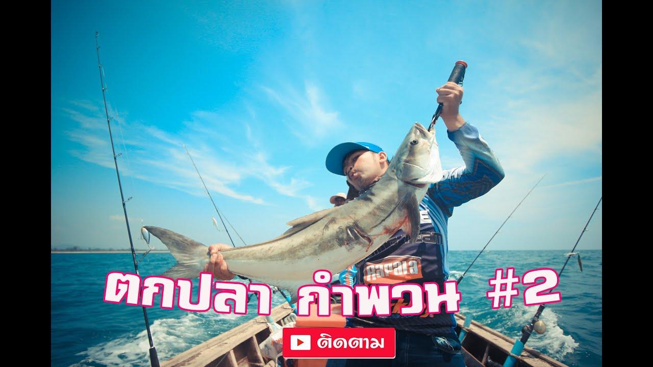 ตกปลากำพวน ช่อนทะเลใหญ่ #2 THAI BRAND LURE