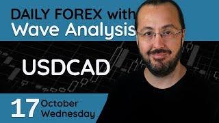 USDCAD - Forex Trade Setups (17 October 2018)