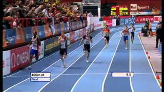 400m men final European Athletics Championships 2011, Paris