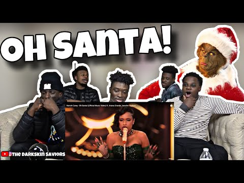 Mariah Carey – Oh Santa! (Official Music Video) ft. Ariana Grande, Jennifer Hudson (Reaction)