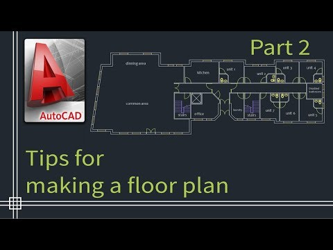 autocad-2019---tutorial-for-beginners-(tips-do-draw-a-floor-plan)---part-2