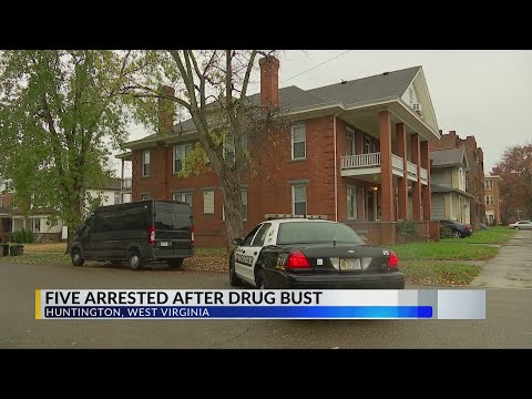 5 Arrested After Drug Busts In Huntington