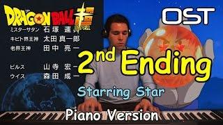 Dragon Ball Super Ending #2 - Starring Star (KEYTALK) - piano versi...