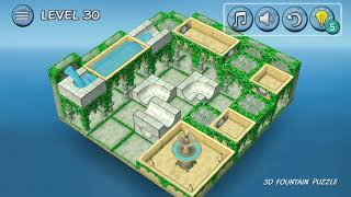 FLOW WATER   Mobile 3D Water Puzzle Game  NewsWatch Review SD540