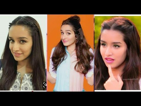 Easy college/school hairstyle inspired Shraddha Kapoor||Latest  shraddha kapoor hairstyle 2019 thumbnail