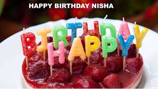Nisha birthday wishes - Cakes  - Happy Birthday NISHA