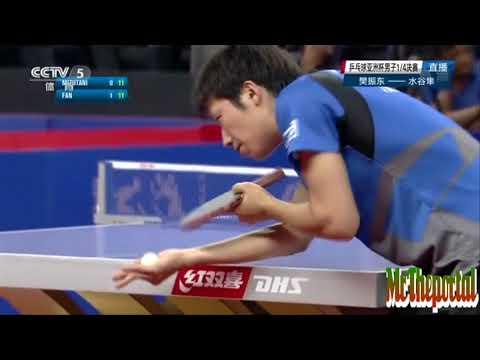 Table Tennis Asian Cup 2017 - Fan Zhendong Vs Jun Mizutani -