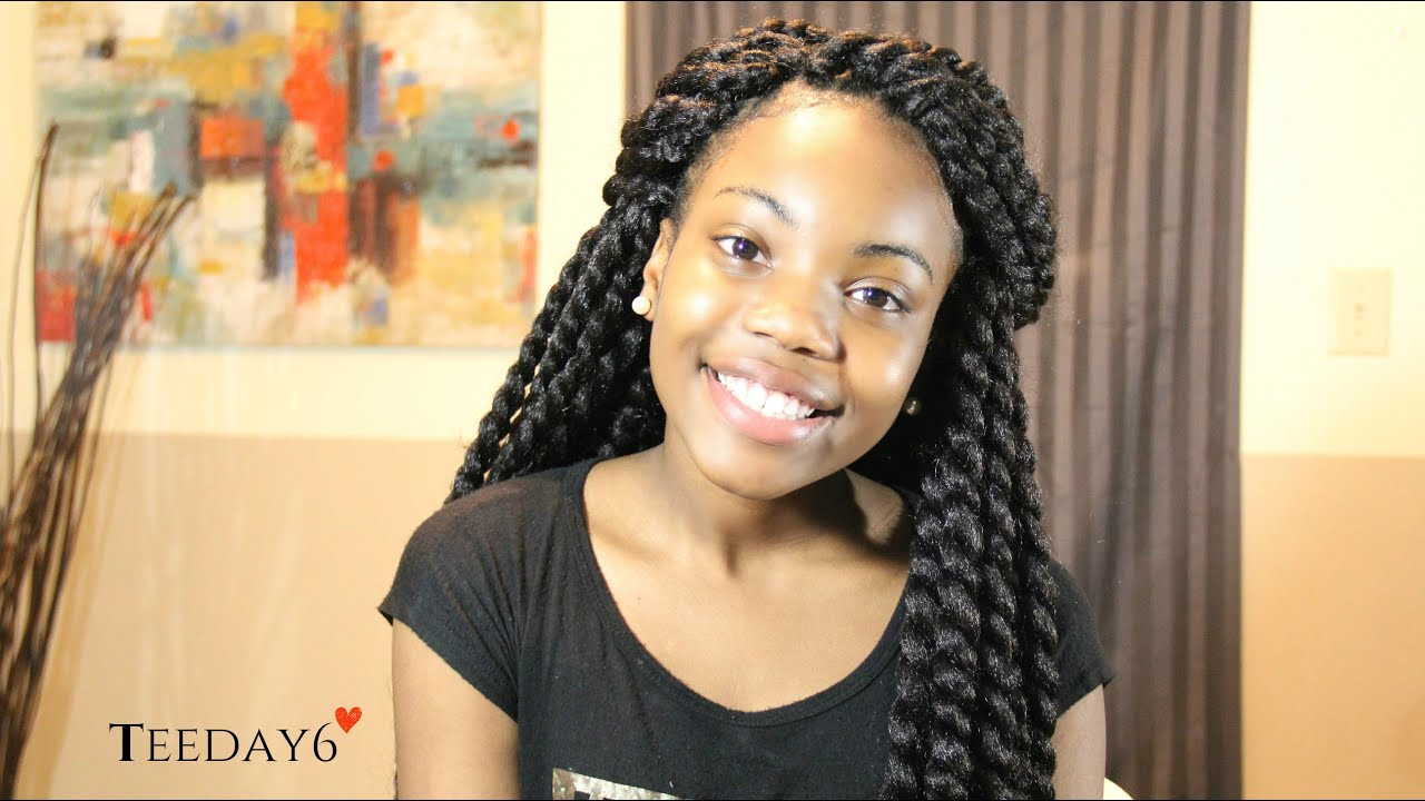 Crochet Braids Mambo Twist : Havana Mambo Twists Crochet Braids TEEDAY6 - YouTube