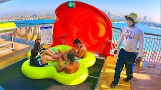 Aquaventure Waterpark - New Water Slides (Atlantis The Palm Dubai)