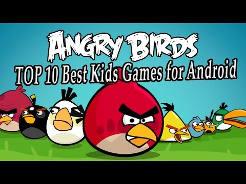 TOP 10 Best Kids Games For Android. Top Best APPS For Children 2017. Best Phone Games