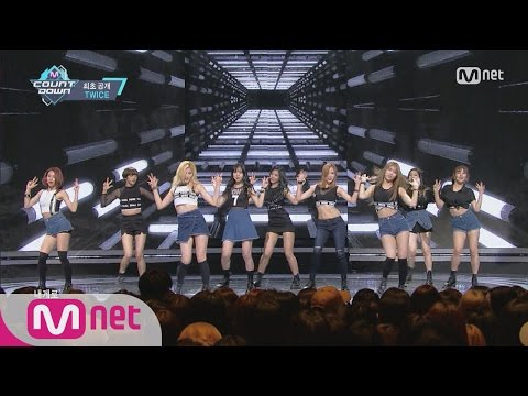 [TWICE - Touchdown] Comeback Stage l M COUNTDOWN 160428 EP.471